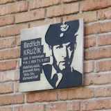 Odhalení desky letci Bedřichu Kružíkovi. Foto: Milan Krčmář