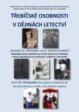 """Přednáška """"Třebíčské osobnosti v dějinách letectví . Foto: Pavlíček"""